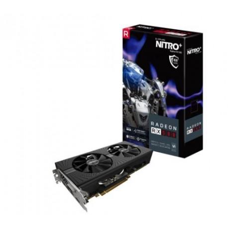 Sapphire Radeon NITRO+ RX 580 8GB GDDR5 PCI-E Dual HDMI / DVI-D / Dual DP w/ backplate (UEFI)