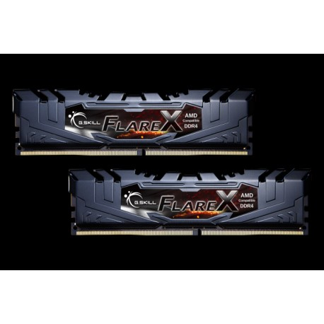 G.SKILL Flare X Series DDR4 2400 16GB (2 x 8GB) 288-Pin DDR4 SDRAM (PC4 19200) AMD X370 / B350 / A320