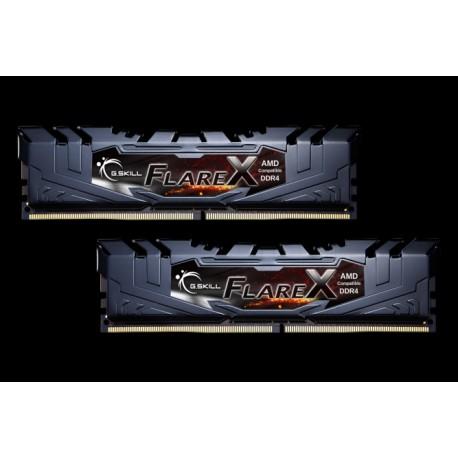 G.SKILL Flare X Series DDR4 2400 16GB (2 x 8GB) 288-Pin DDR4 SDRAM (PC4 19200) AMD X370 / B350 / A320