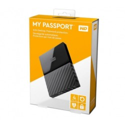 WD 4TB My Passport Portable Hard Drive USB 3.0